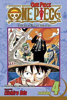 One Piece Manga Vol.  4: The Black Cat Pirates