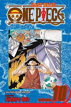One Piece Manga Vol. 10: Ok, Let's Stand Up!