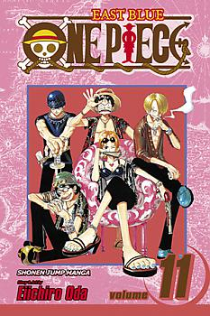 One Piece Manga Vol. 11: The Meanest Man in the East