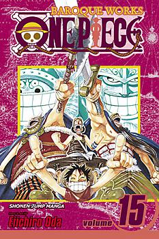 One Piece Manga Vol. 15: Straight Ahead!!!