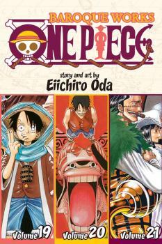 One Piece Omnibus Manga Vol. 7 Baroque Works (3-in-1 Edition)
