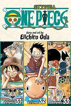 One Piece Omnibus Manga Vol. 11 Skypeia (Vol. 31-32-33)