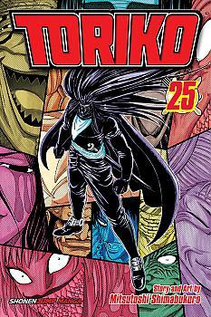 Toriko Manga Vol. 25: Gourmet Corp. Invasion