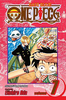 One Piece Manga Vol.  7 The Crap-Geezer