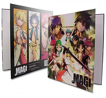 Magi The Labyrinth of Magic Binder - Key Art