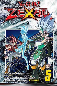 Yu-Gi-Oh! Zexal Manga Vol.  5 with Line Monster Chariot Hisha