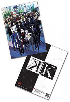 K Project File Folder - Group Shot (Pack of 5)