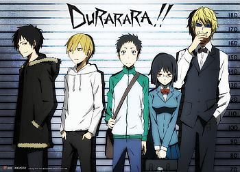 Durarara!! Wall Scroll - Line Up [LONG]