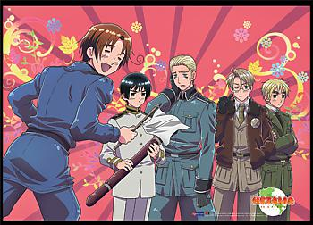 Hetalia Wall Scroll - Italy Surrenders [LONG]
