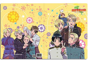 Hetalia Axis Powers Pocket File Folder - Group