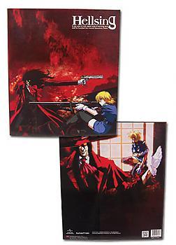Hellsing Ultimate Binder - Alucard & Victoria
