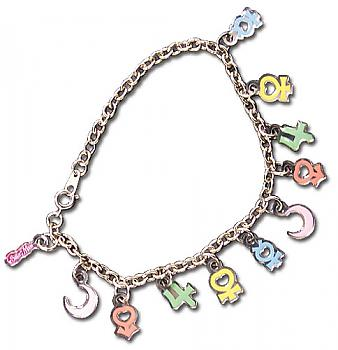 Sailor Moon Bracelet - Planetary Symbols