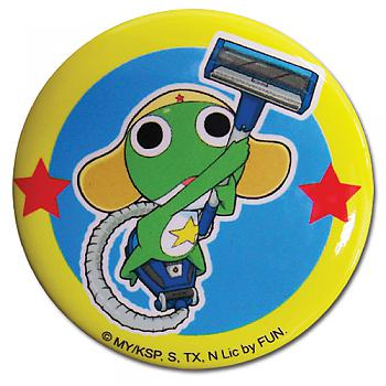 Sgt. Frog Button - Keroro with Vacuum