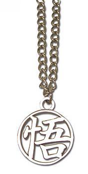 Dragon Ball Necklace - Goku Symbol Metal
