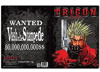 Trigun Pocket File Folder - Vash The Stampede