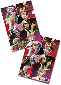 Tiger & Bunny File Folder - Key Art