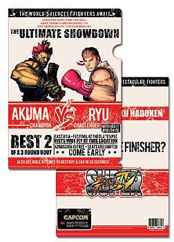 Street Fighter IV File Folder - Akuma Vs. Ryu (Pack of 5)