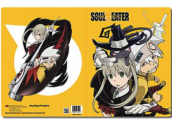 Soul Eater Pocket File Folder - Soul & Maka