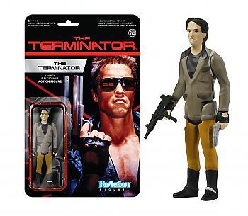 Terminator ReAction 3 3/4'' Retro Action Figure - Terminator One Tech Noir