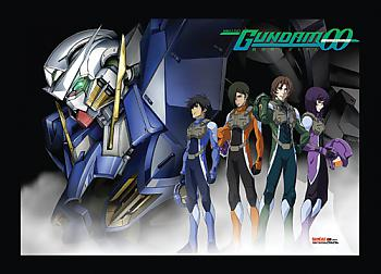 Gundam 00 Wall Scroll - Exia and Pilots [LONG]