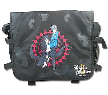 Black Butler 2 Messenger Bag - Ciel & Sebastian