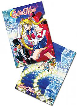 Sailor Moon File Folder - Sailor Moon and Tuxedo Kamen (Pack of 5)