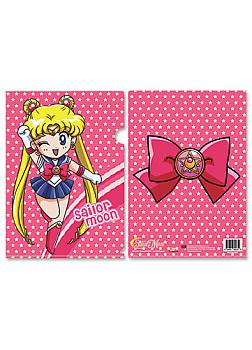 Sailor Moon File Folder - Chibi Moon and Brooch (Pack of 5)