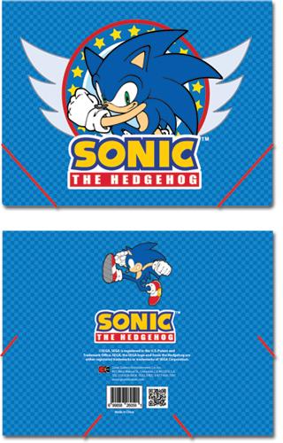 Sonic The Hedgehog Elastic Band File Folder Sonic Emblem Archonia Us