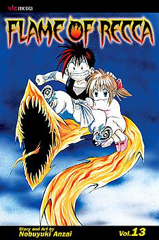 Flame of Recca Manga Vol.  13