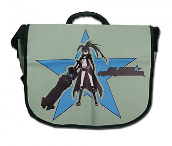 Black Rock Shooter Messenger Bag - Black Rock Shooter Hood Pose