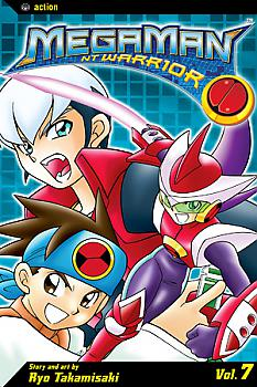MegaMan NT Warrior Manga Vol.   7: REGULAR VERSION