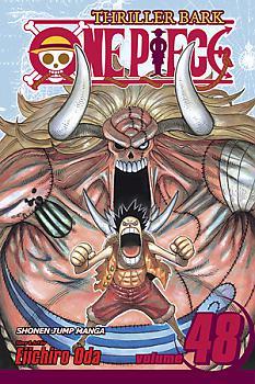 One Piece Manga Vol.  48: Adventures of Oars