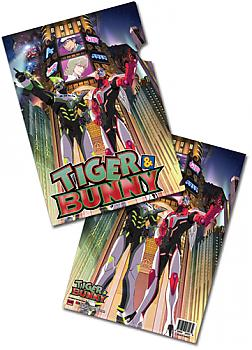 Tiger & Bunny File Folder - Tiger and Bunny (Pack of 5)