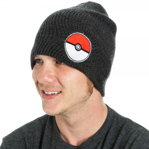 Pokemon Beanie - Pokeball Black Slouch  Archonia US 5d60c85c84b6