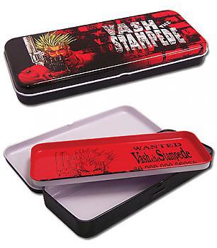 Trigun Tin Pencil Case - Vash the Stampede