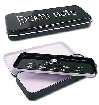 Death Note Tin Pencil Case - Logo