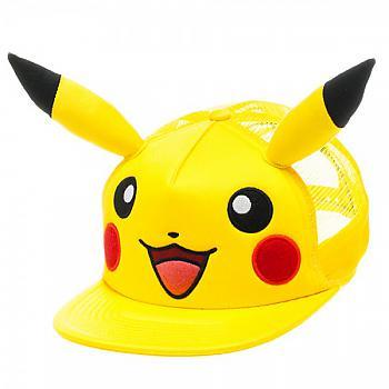 Pokemon Cap - Pikachu Big Face with Ears