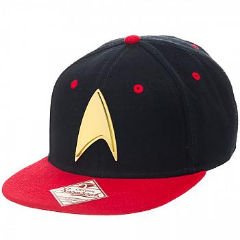 Star Trek Cap - Engineering Red Snapback