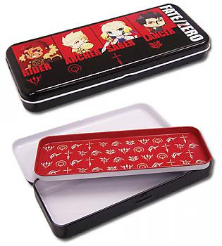 Fate/Zero Tin Pencil Case - Chibi Servants