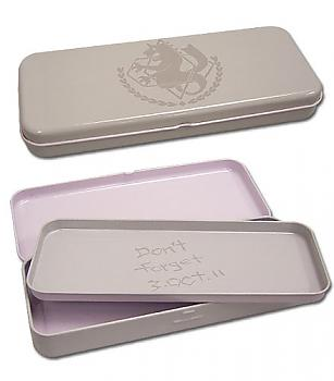 FullMetal Alchemist Tin Pencil Case - State Alchemist Logo / Don't Forget 3.Oct.11