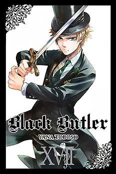 Black Butler Manga Vol.  17