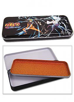 Naruto Shippuden Tin Pencil Case - Naruto Vs. Sasuke