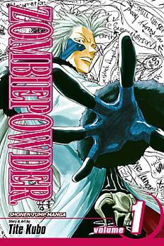 ZOMBIEPOWDER. Manga Vol.   1: The Man with the Black Hand