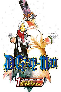 D.Gray-man Manga Vol.   1: Opening