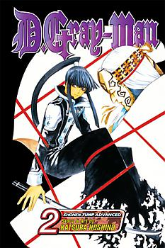 D.Gray-man Manga Vol.   2: Old Man of the Land and Aria of the Night Sky