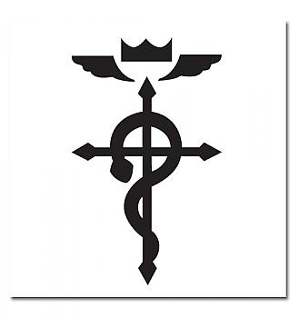 FullMetal Alchemist Tattoos - Cross of Flamel