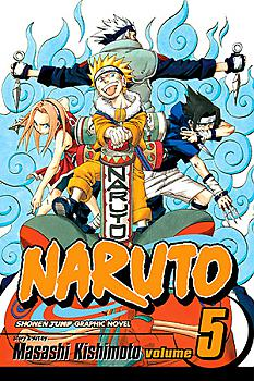 Naruto Manga Vol.   5: The Challengers