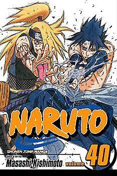 Naruto Manga Vol.  40: The Ultimate Art
