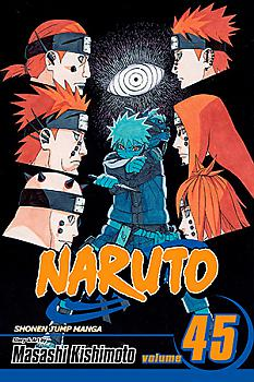 Naruto Manga Vol.  45: Battlefied, Konoha