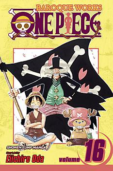 One Piece Manga Vol.  16: Carrying on His Will